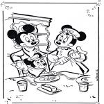 Personnages de bande dessinée - Mickey et Minnie