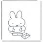Miffy reçoit une lettre