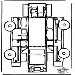 Bricolage coloriages - Modèle de construction - Automobile