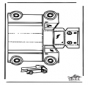 Modèle de construction - camion