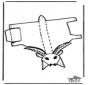 Modèle de construction - chèvre 1