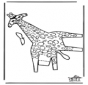 Modèle de construction - Girafe 2