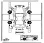Modèle de construction - Porsche