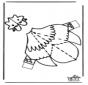 Modèle de construction - poulet