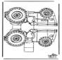 Modèle de construction - tracteur