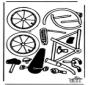 Modèle de construction - vélo