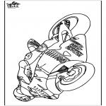Coloriages faits divers - Moto 2