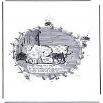 Coloriages d'animaux - Moutons