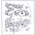 Coloriages pour enfants - My  Little Pony 1
