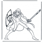 Personnages de bande dessinée - Narnia 8
