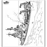 Coloriages faits divers - Navire 2