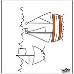 Coloriages faits divers - Navire 3