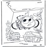 Coloriages pour enfants - Nemo 1