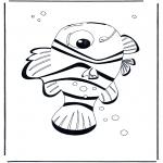 Coloriages pour enfants - Nemo 4
