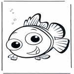 Coloriages pour enfants - Nemo 5
