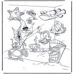 Coloriages pour enfants - Nemo 8