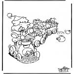 Coloriages Noël - Noël 18