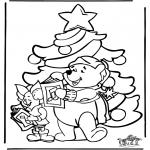 Coloriages Noël - Noël 2