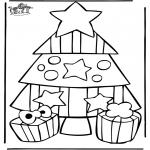 Coloriages Noël - Noël 21