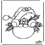 Coloriages Noël - Noël 27