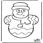 Coloriages Noël - Noël 34