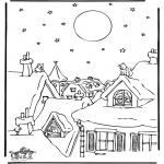 Coloriages Noël - Noël 38