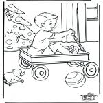 Coloriages Noël - Noël 5