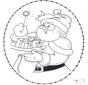 Noël Carte à broder 22