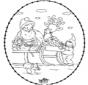 Noël Carte à broder 24