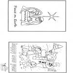 Coloriages Noël - Noël et nouvel an 2