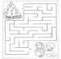 Noël labyrinthe 1