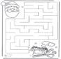 Noël labyrinthe 2