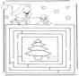 Noël labyrinthe 3