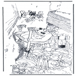Personnages de bande dessinée - Obélix, Idéfix et Astérix