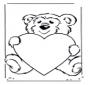 Ours avec coeur