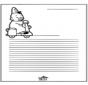 Papier à lettres - Bumba