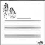 Bricolage coloriages - Papier à lettres - High school musical
