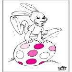 Coloriage thème - Pâques 5