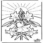 Coloriages Bible - Pâques - Bible 2