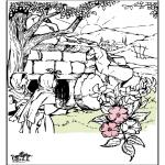 Coloriages Bible - Pâques - Bible 3