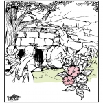 Coloriages Bible - Pâques - Bible 9
