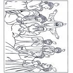 Coloriages Bible - Pentecôte 1