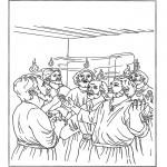 Coloriages Bible - Pentecôte 2