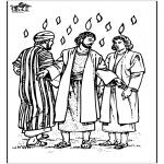 Coloriages Bible - Pentecôte 3