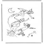 Personnages de bande dessinée - Peter pan 1
