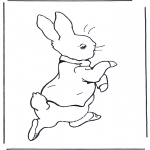 Coloriages faits divers - Peter Rabbit 1