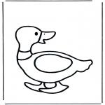 Coloriages pour enfants - Petit canard
