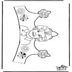 Bricolage coloriages - Petit couronne 2