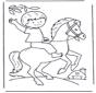 petit garçon au cheval