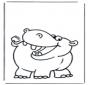 Petit hippopotame 1